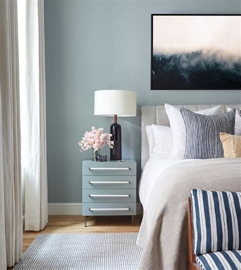 chambre gris et bleu 1001 idées pour choisir une couleur chambre adulte