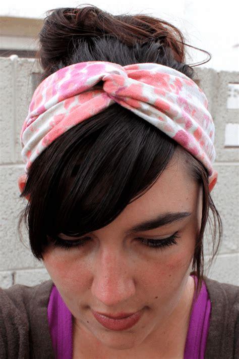 ueber  originelle ideen wie sie haarband selber machen