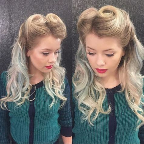 beautiful hairstyles  brides long blonde curly