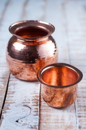 handcrafted copper water pot  cup sombu lota