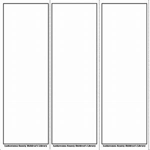 free blank bookmark templates to print professional With bookmarks templates for publisher