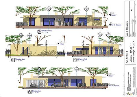 plan maison 3 chambres cuisine plan maison plein pied plan maison plain pied