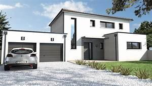 constructeur maison contemporaine beauvoir sur mer 85 With plan de maison cubique 11 maisons sur mesure 44 56 85 depreux construction