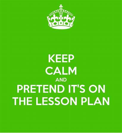 Lesson Esl Plans Plan Planning Keep Calm