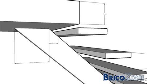 calculer un escalier avec palier a l aide escalier limon central