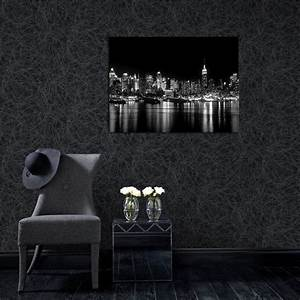 Charcoal and Silver Wallpaper