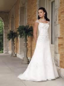 a line wedding dresses with sleeves bateau beaded a line organza wedding dress cap sleeves prlog