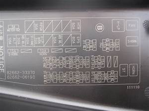 Toyota Camry 2007 V6 Fuse Box And Wires