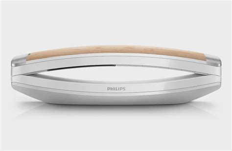 Philips Telefon Holz by Philips M8881 Attraktives Festnetztelefon Mit