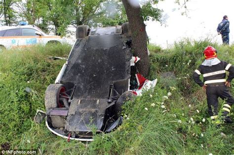 A Mclaren F1 Crashes On A Roadtrip That Included