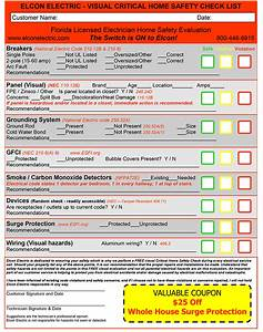 Free Visual Electrical Safety Inspection With Every Job