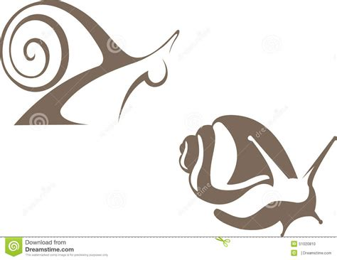snail vector sign stock vector image