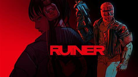 ruiner game poster full hd wallpaper