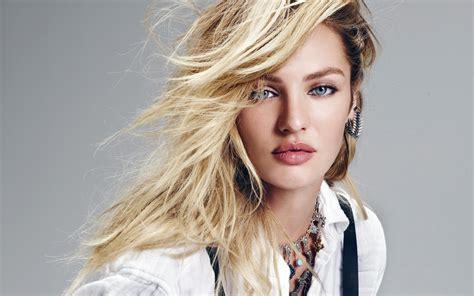 Candice Swanepoel Beautiful HD Wallpaper