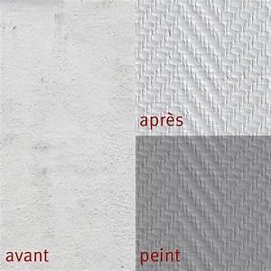 Papier Peint Fibre De Verre : fibre de verre chevron 190 g m leroy merlin ~ Dailycaller-alerts.com Idées de Décoration