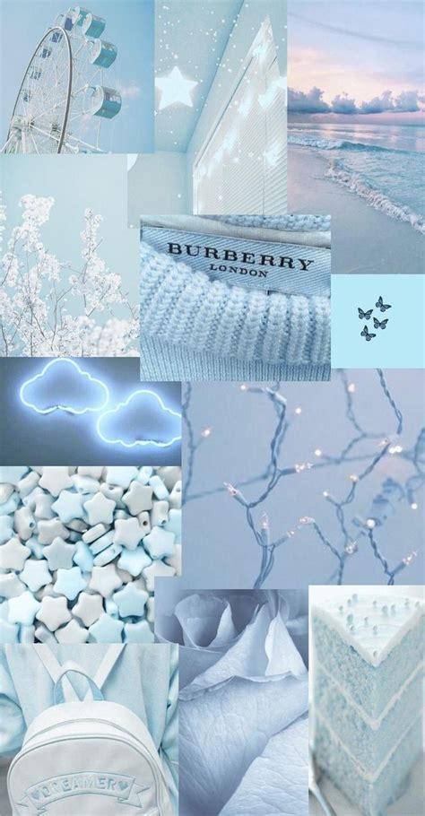 baby blue aesthetic wallpaper in 2021 baby blue
