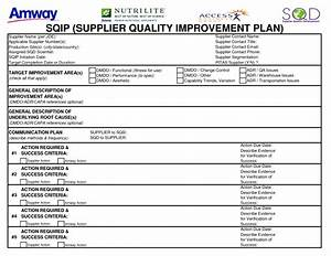 best photos of supplier improvement plans supplier audit With quality improvement report template