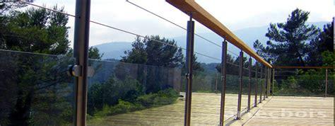 balcons et terrasses en bois en hauteur rambardes et