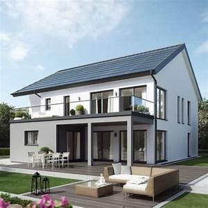 Einfamilienhaus In Zweifamilienhaus Umbauen : moderne fassaden einfamilienh user satteldach ~ Lizthompson.info Haus und Dekorationen