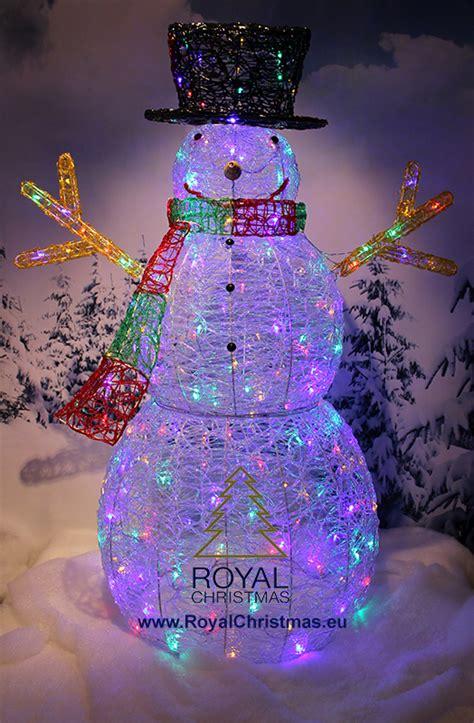 snowman  cm  led multi color ls  red