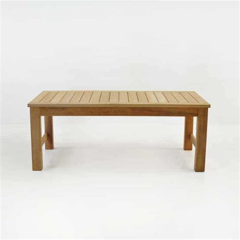 monterey teak outdoor coffee table patio furniture