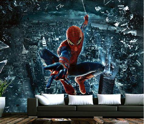 wallpaper spiderman superhero wall mural