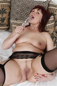 Classy Redhead Milf Pleasure With Sex Toys Photos Candy