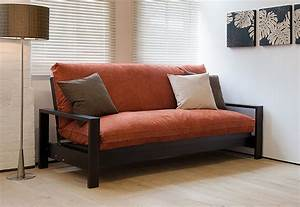 Japanese style futons sofa beds beds blog natural for Sofa becomes bed