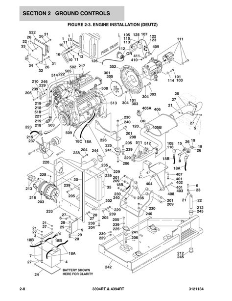 Hatz Diesel Fuel System Diagram by Construction Equipment Parts Jlg Parts From Www Gciron