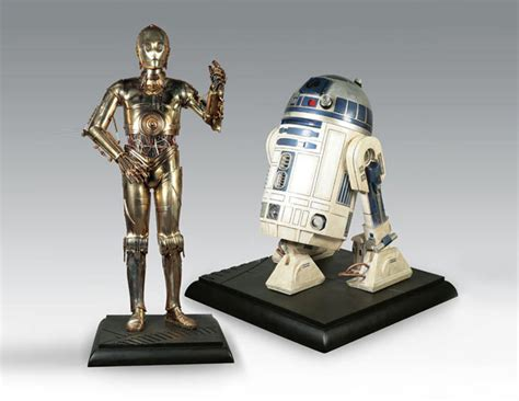 lifesize  po    star wars droid replicas