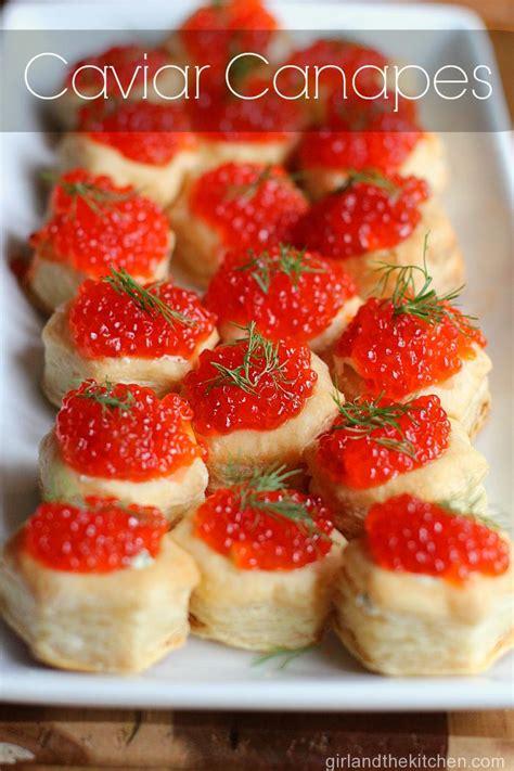puff pastry canapes ideas caviar recipes canapes