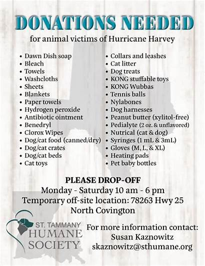Hurricane Relief Donations Victims Harvey Items Needed