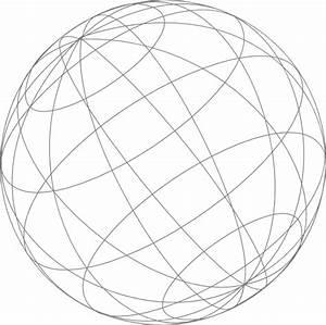 Wire Globe Gray Clip Art At Clker Com