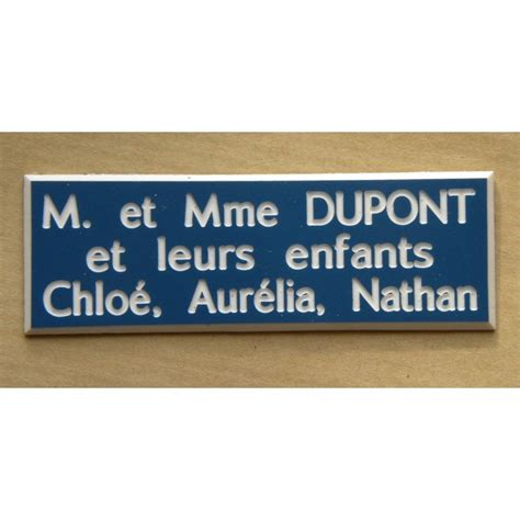 modele etiquette boite aux lettres plaque etiquette boite aux lettres estgravure fr