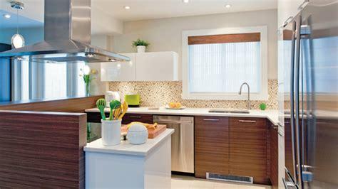muret de cuisine configuration conviviale dans la cuisine les idées de ma