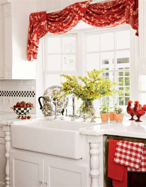 Red Kitchen Decorating Ideas  Sample Designs And Ideas Of