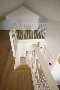 Claustra Beton Blanc : construction maison d 39 architecte pr s d 39 annecy balustrade barandillas escaleras escalera ~ Melissatoandfro.com Idées de Décoration