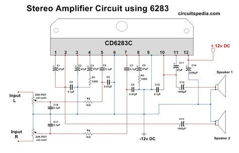 cd stereo amplifier circuit easyeda