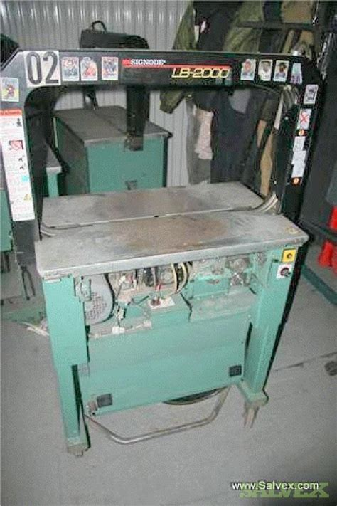 signode lb strapping machines salvex