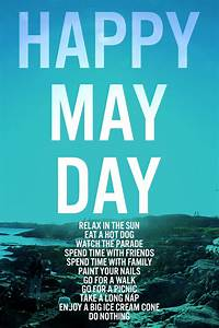 Life | Happy May Day - Squirrelly Minds