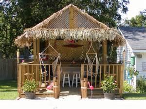 Build a Tiki Hut Bar