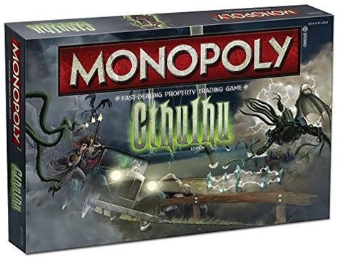 Monopoly Cthulhu Board Game  Daily Deal Feeds