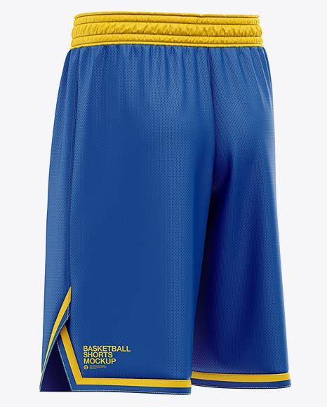 4,000+ vectors, stock photos & psd files. Men's Basketball Shorts Mockup - Back Half Side View in ...