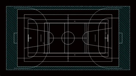 basketball court  autocad  cad   kb
