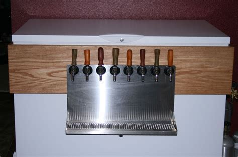 Hand Crafted Keezer (Or Kegerator) by FSD Custom