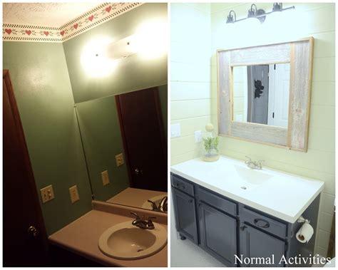 normal activities guest bathroom remodel