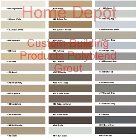 Polyblend Ceramic Tile Caulk Colors by Best 25 Grout Colors Ideas On Tile Grout