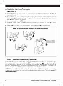 Honeywell Thermostat Cm900 Users Manual