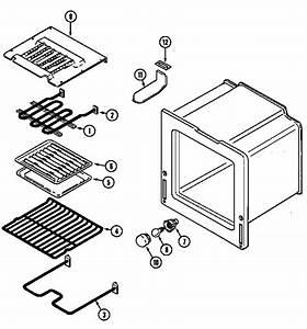 Oven Diagram  U0026 Parts List For Model 6898vvv Magic