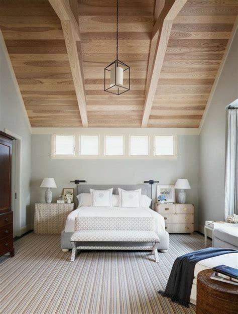 deco chambre bois chambre avec mur en bois